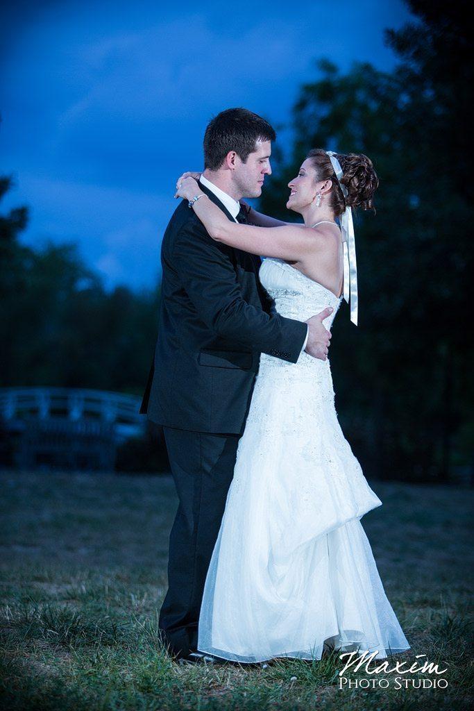 First Dance Cox Arboretum Dayton Ohio wedding