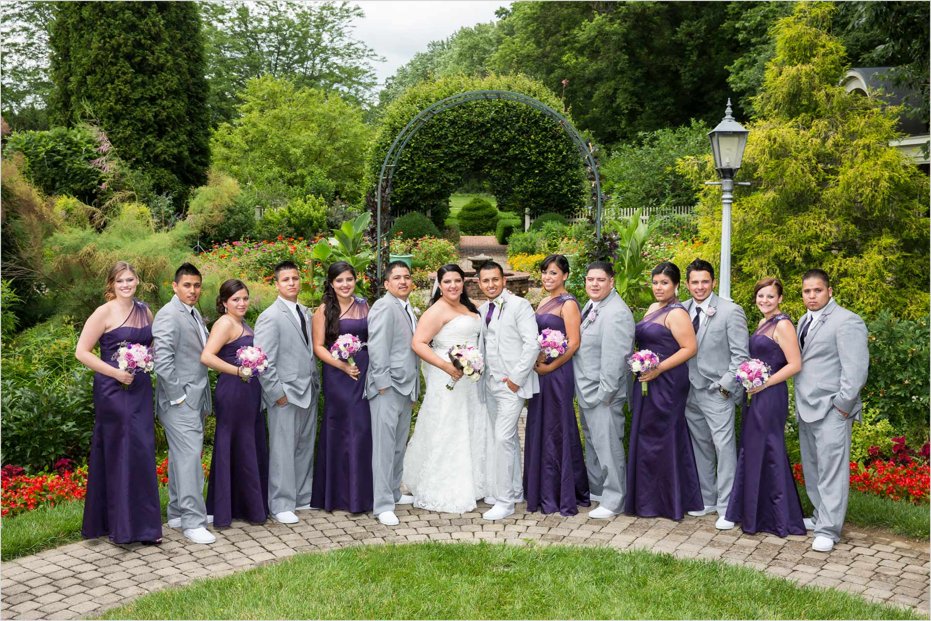 Wegerzyn Gardens Wedding Portraits
