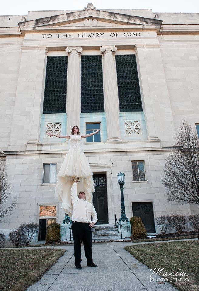 Masonic Temple Wedding Photograph ever