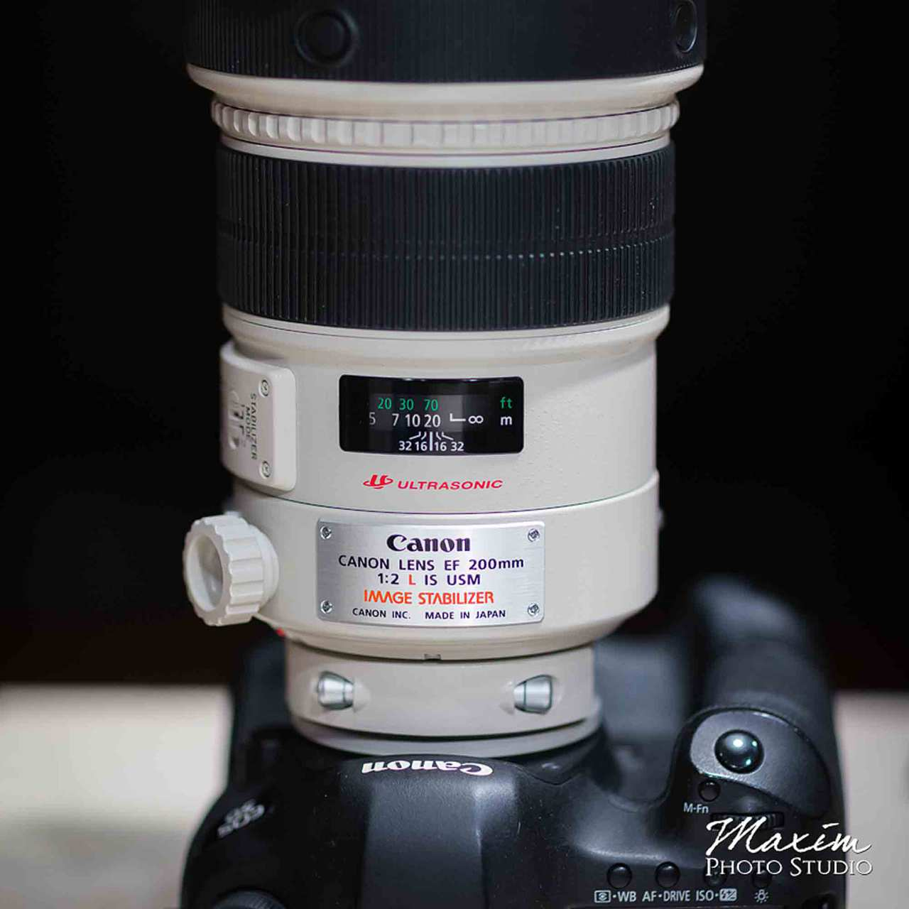 Canon-200mm-f2.0-lens