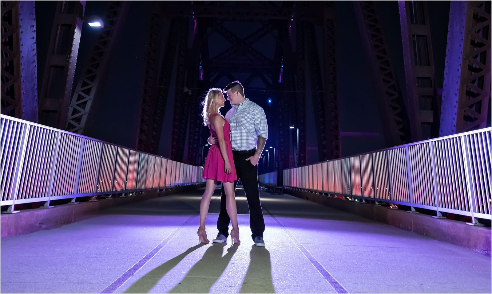 Cincinnati wedding photography louisville Big four Bridge engagement