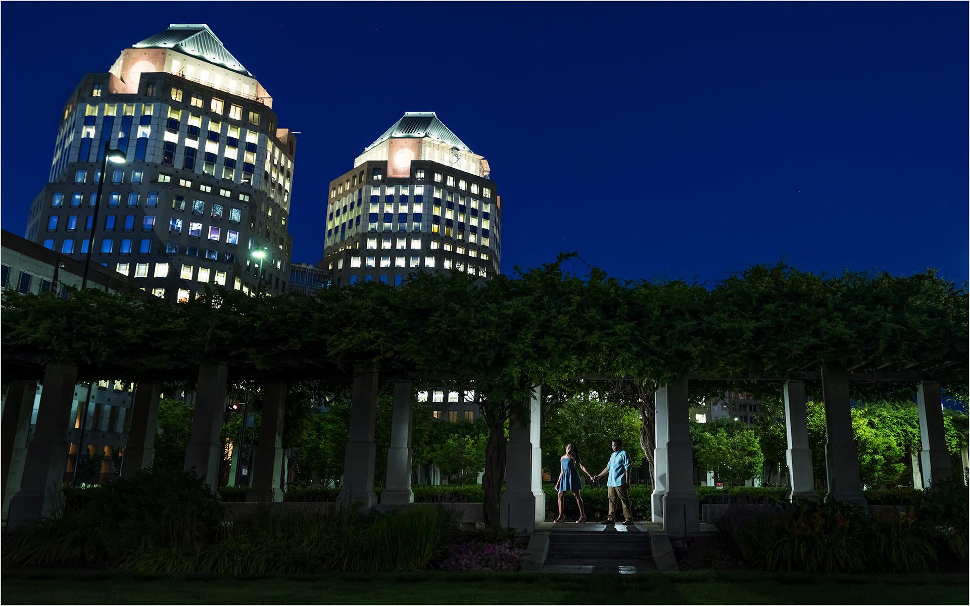PG Gardens Cincinnati Night engagement
