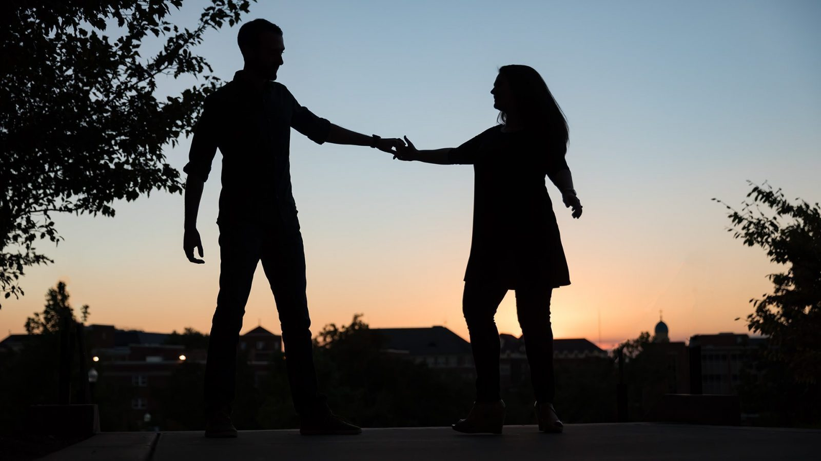 University of Dayton Engagement Photography