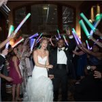 Drees Pavilion Wedding Reception Glowsticks