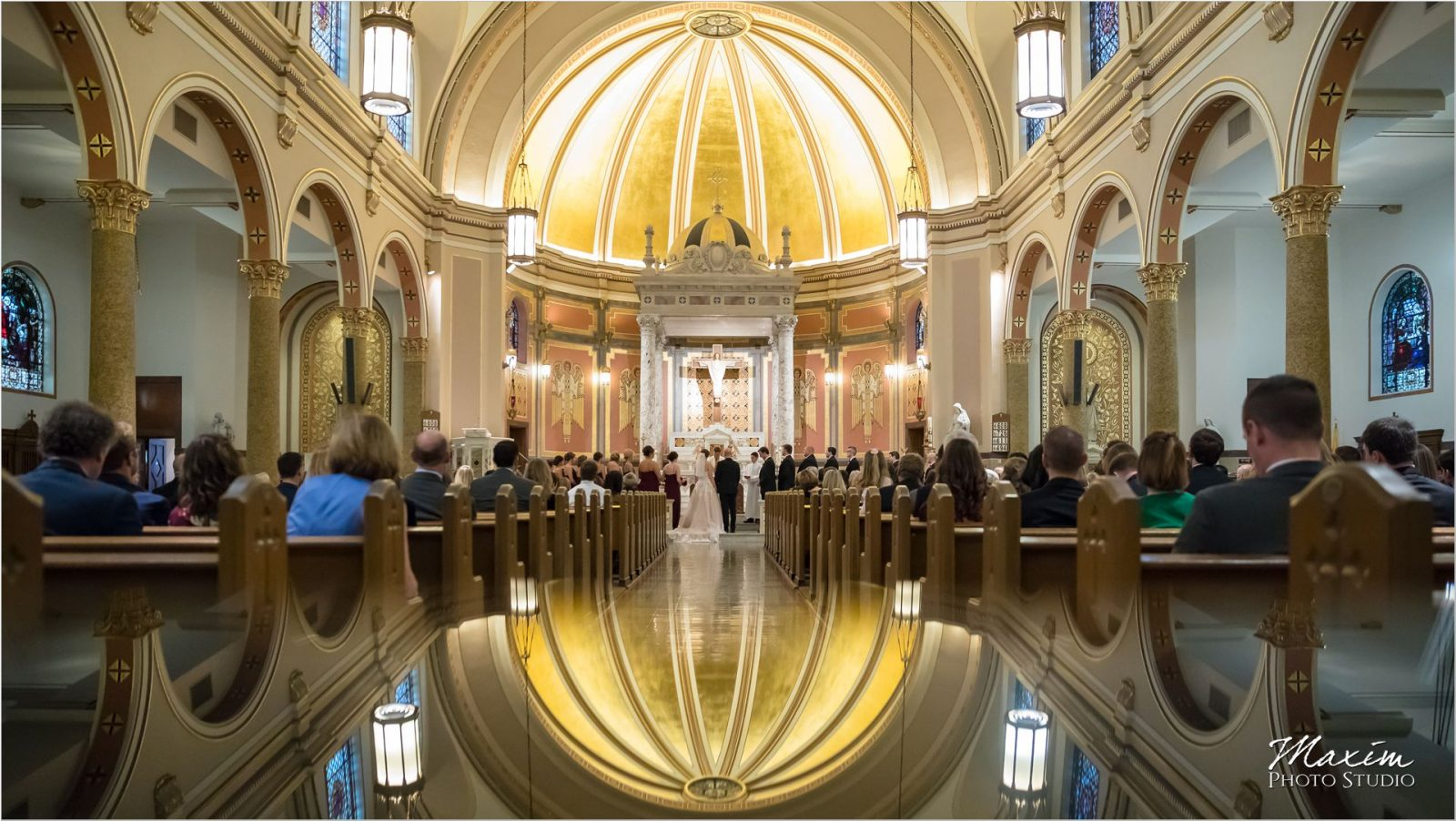 St. Boniface Church Cincinnati Wedding reflection