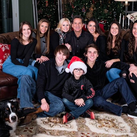 Dayton Family Christmas Portrait Photography