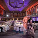 Hall of Mirrors Indian Wedding Bride Groom