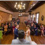 Backstage Event Center Wedding Ceremony